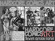Hardcore Comics Art